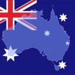 Australia map — Stock Vector