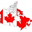 Royalty-Free Stock Vector Image: Canada Map