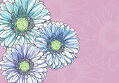 Floral illustration — Stock Vector