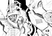 Steampunk art — Stock Vector