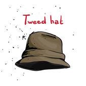 Cappello classico — Vettoriale Stock