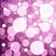 Purple background with glowing circles — Stock Photo