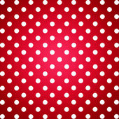 Red and white dotted background — Stock Photo
