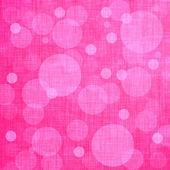 Pink background, linen texture — Stock Photo