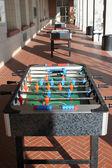 Soccer table — Stock Photo