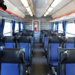 Train interior - Stock Photo