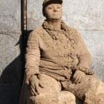 ������, ������: Statue artist