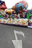 Carnival floats — Stock Photo