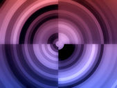 Gradient monochrome concentric forms palette — Stock Photo