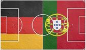 Germany vs portugal group g world cup 2014 — Stock Photo