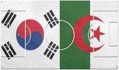 Corea del sur vs argelia del grupo h del mundial 2014 — Foto de Stock