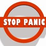 Stop panic — Stock Photo #47870939