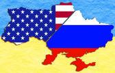 Ukraine politic situation — Stock Photo