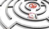 Northern cyprus in the maze of politic problems — Stock Photo