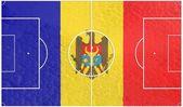 Andorra football — Stock Photo