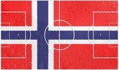 Norway football — Stock Photo