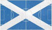 Scotland football — Stock Photo