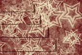 Telón de fondo del patrón de estrellas — Foto Stock