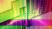 Neon dots shine — Stock Photo