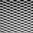 Wavy metal pattern background — Stock Photo