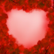 Royalty-Free Stock Photo: Abstract red heart, love concept