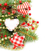 Christmas decorations background — Stockfoto