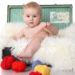 Little baby — Stock Photo #4662647