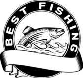最好的渔场 — 图库矢量图片