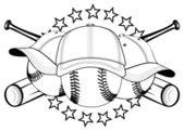 Kugeln in Hüte — Stockvektor