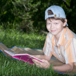 Teenager with book — Stock Photo #30092453