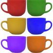 Mug set — Stock Photo