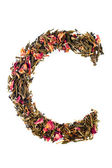 Letter 'C' from herbal tea abc — Foto de Stock