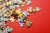Puzzle — Foto de Stock