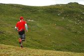 Marathonläufer — Stockfoto