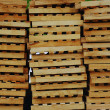 Stock Photo: Cargo pallets