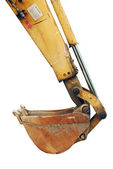 Excavator backhoe — Stock Photo