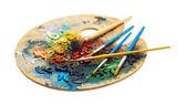 Paint palette — Stock Photo