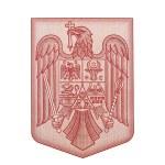 Romania emblem — Stock Photo #33571409