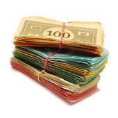 Dinheiro falso — Fotografia Stock