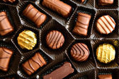 Chocolate candies — Photo