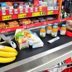 ������, ������: Conveyor belt at the market checkout