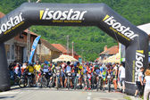 горный велосипед марафон — Стоковое фото