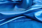 Blauwe stof textuur — Stockfoto