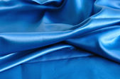 Blue fabric texture — Stock fotografie