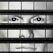 Man portrait filmstrip — Foto de Stock