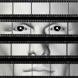 Man portrait filmstrip — Stock Photo