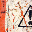 Abstract warning sign — Stock Photo #1648089
