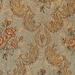 Antique floral pattern wallpaper background -  