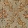 Antique floral pattern wallpaper background — Stock Photo