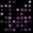 Stars on the night sky - Stock Photo